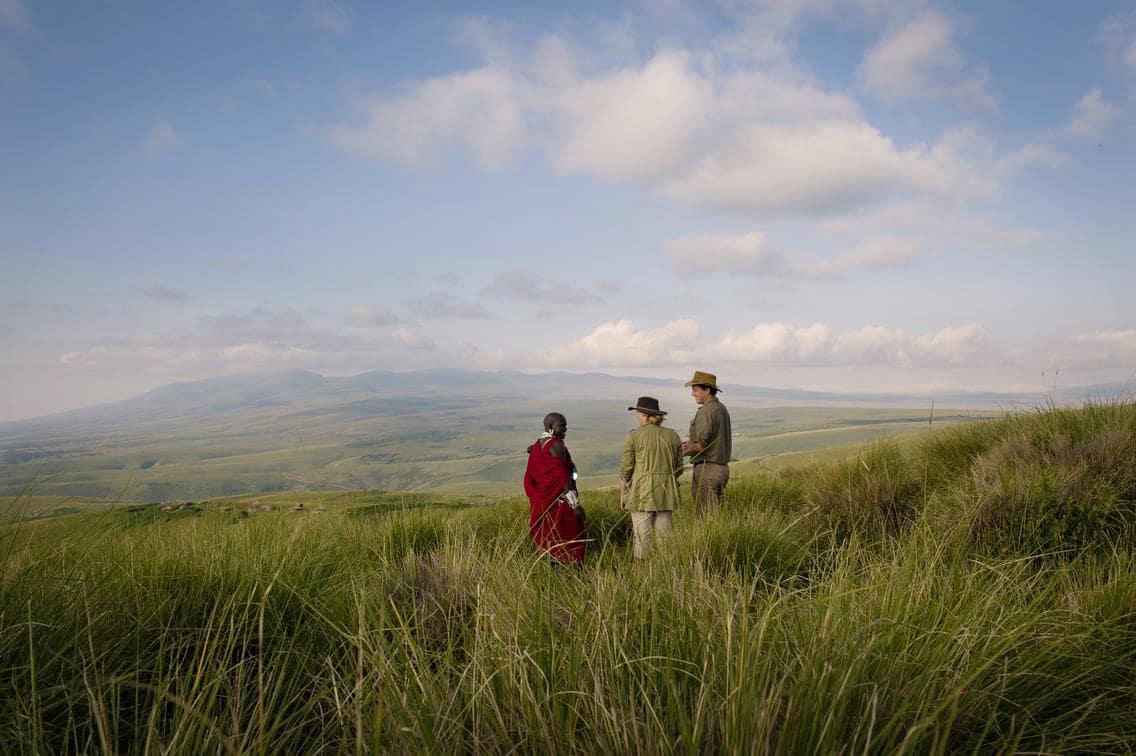 Ngorongoro Crater - crater rim walk
