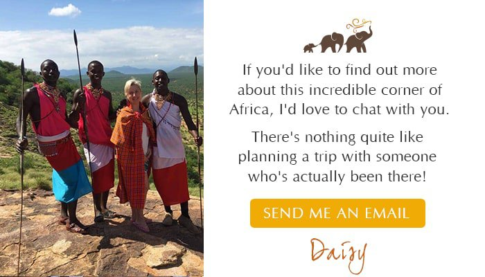 Daisy with Maasai: Travel Consultant - Southern Destinations