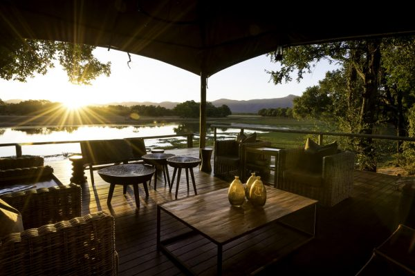 A Safari For Purists - sunset view from camp of river - Chindeni Bush Camp - Zambia - Southern Destinations