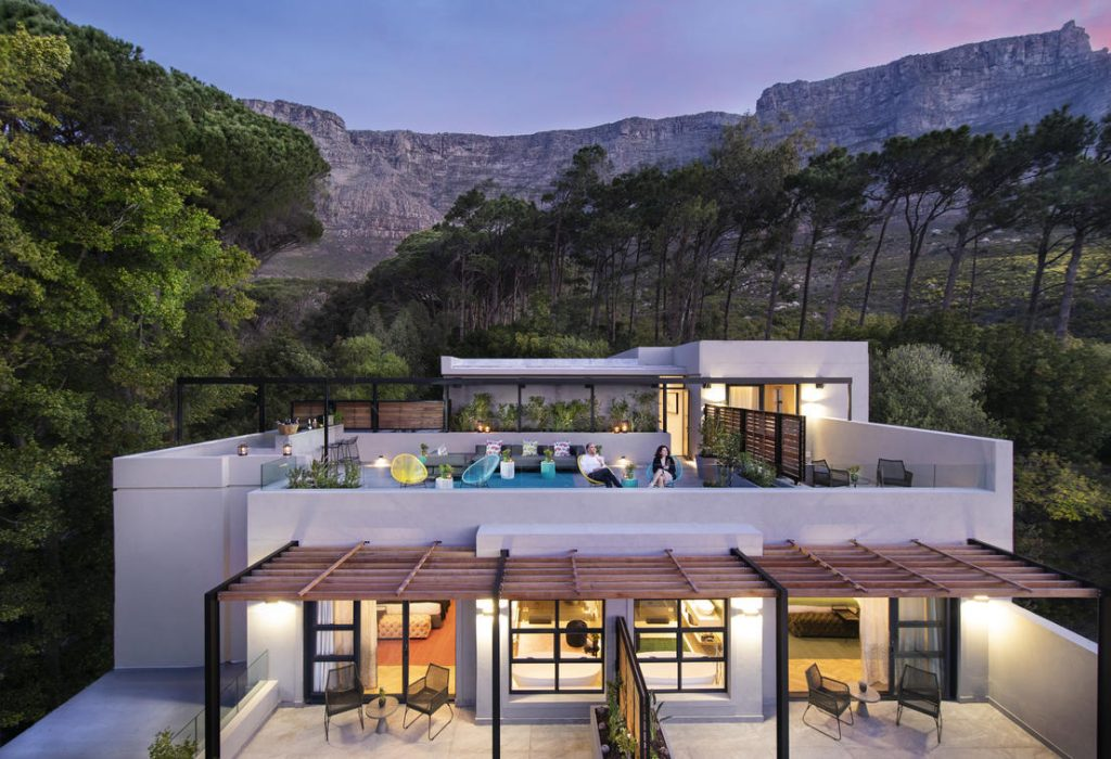 Camissa House - Table Mountain - Cape Town luxury boutique hotel: rooftop bar