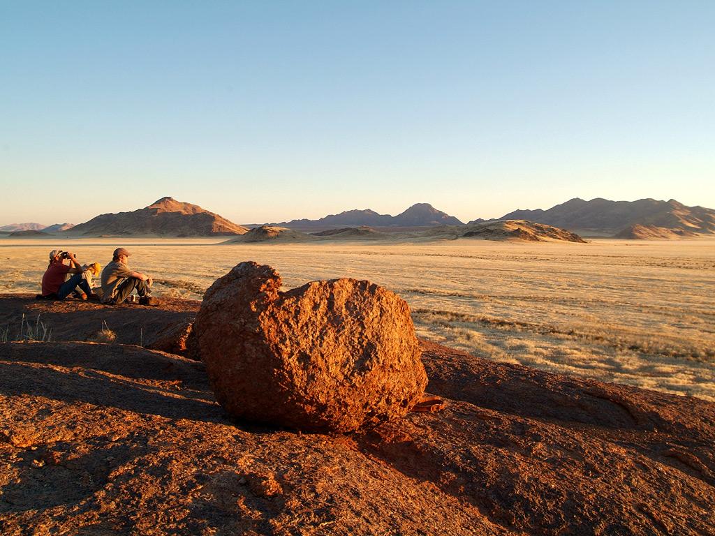 Namibia - desert - hike - golden hour - Wolwedans