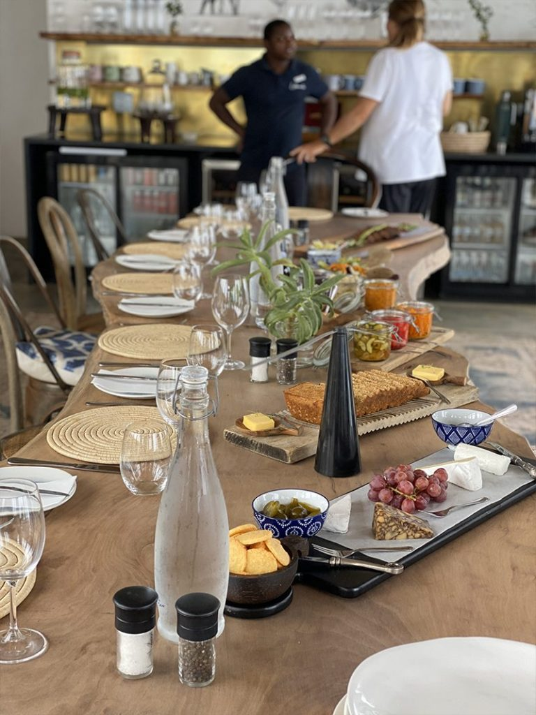 Exquisite food at Lekkerwater Beach Lodge in South Africa - Southern Destinations