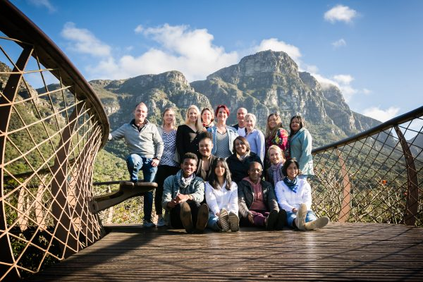 Southern Destinations team at Kirstenbosch in Cape Town